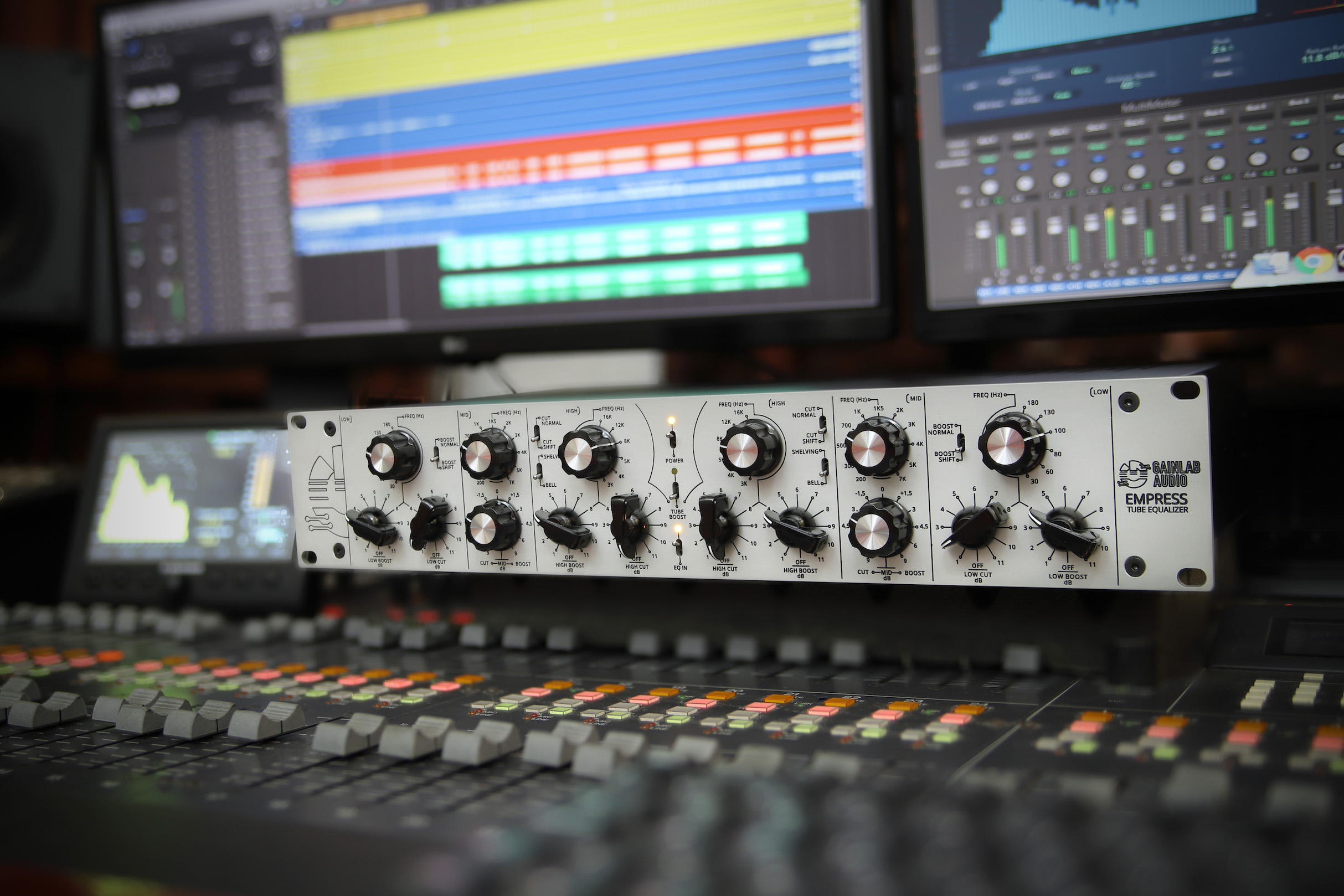 Gainlab Audio Empress Pro Audio Studio Equalizer Tube Pultech