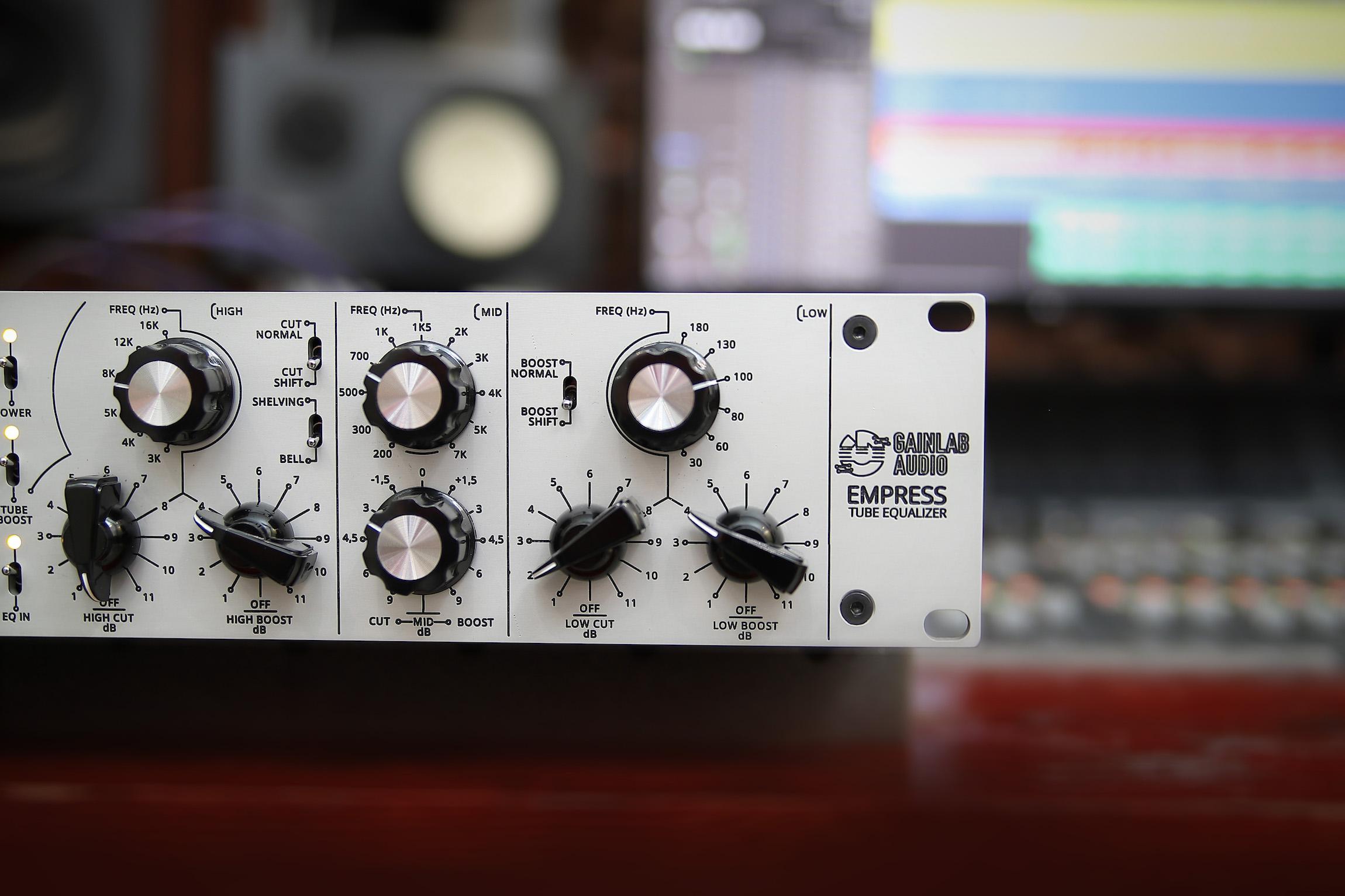 Gainlab Audio Empress Pro Audio Studio Equalizer Tube Pultech EQ Mastering Mixing
